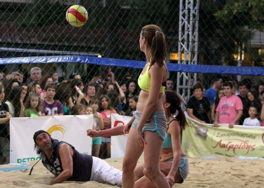 Χαϊδάρι Σήμερα Ιδρώτας στην άμμο... Το λαμπερό τουρνουά beach volley και το παράπονο του Βασίλη 20